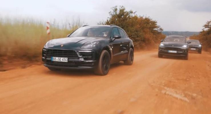 2019 Porsche Macan'dan yeni video
