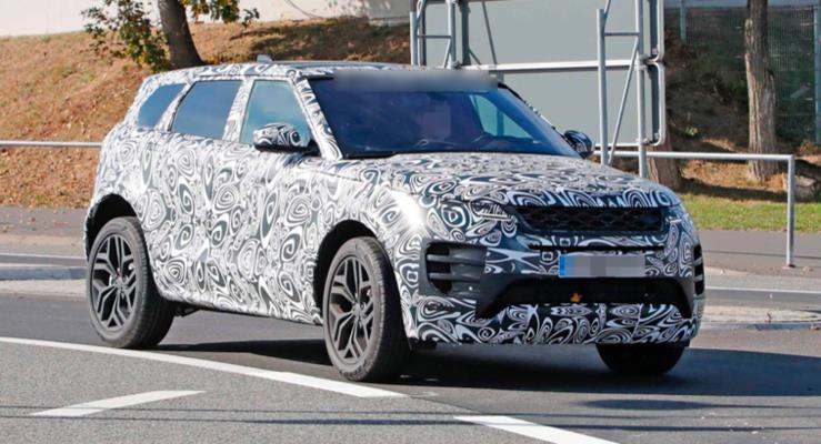 2019 Range Rover Evoque bir kez daha görüntülendi