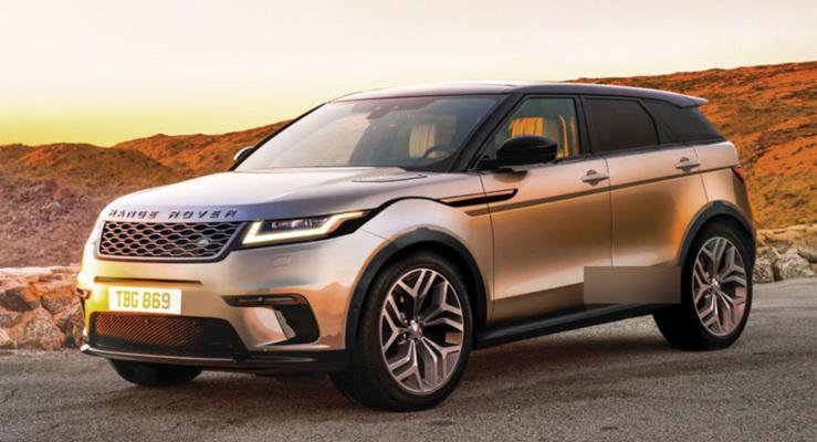 2019 Range Rover Evoque tasarımı ilhamını Velar'dan alacak