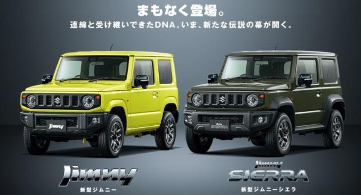 2019 Suzuki Jimny: İlk resmi fotoğraflar ve detaylar