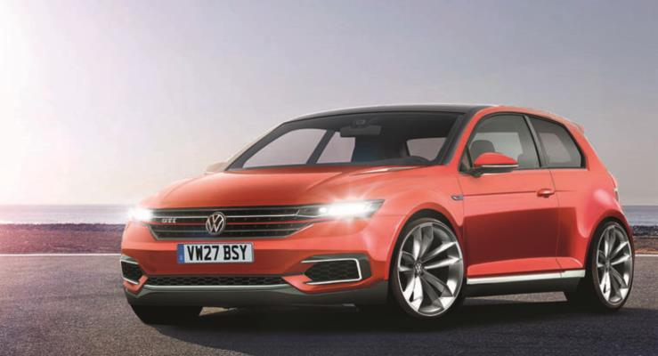 2019 Volkswagen Golf Mk8'den ilk görsel yayınlandı
