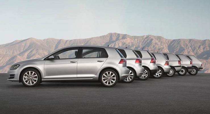 2019 VW Golf Mk8 gelecek yıl Haziran'da üretime girecek
