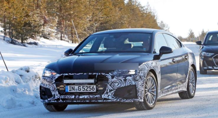 2020 Audi A5 Sportback ortaya çıktı