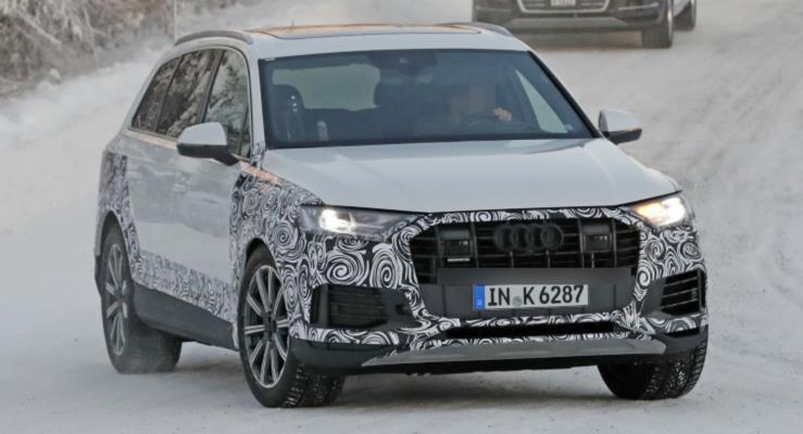 2020 Audi Q7 kış testlerinde görüntülendi