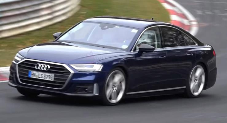 2020 Audi S8 testte görüntülendi