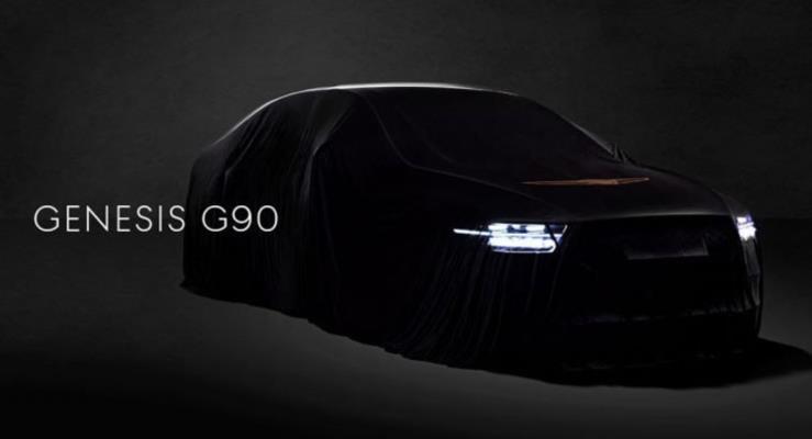 2020 Genesis G90'dan yeni teaser