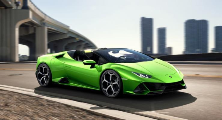 2020 Lamborghini Huracan EVO Kuzey Amerika'ya Ulaştı
