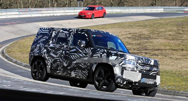 2020 Land Rover Defender, Nürburgring