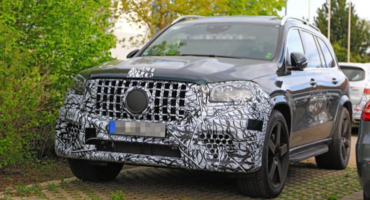 2020 Mercedes-AMG GLS 63 Kamuflajını Çıkartmaya Başladı