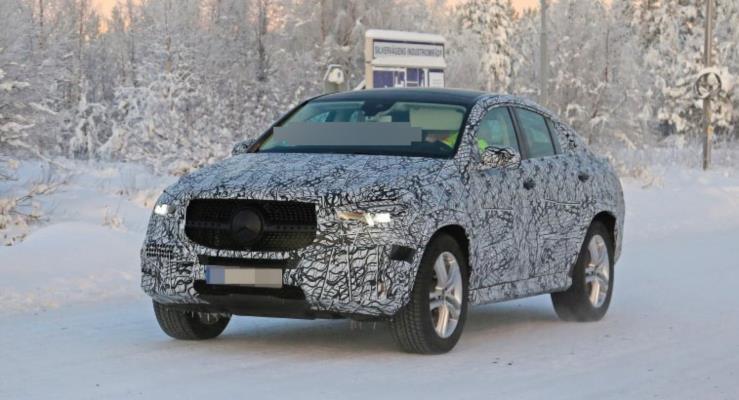 2020 Mercedes-Benz GLE Coupe, BMW X6 ile kapışacak
