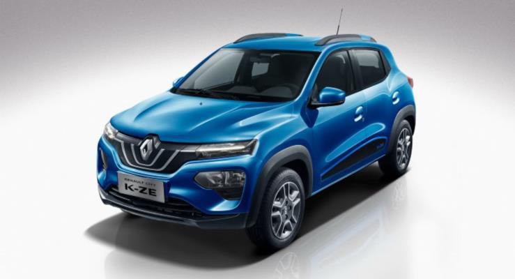 2020 Renault City K-ZE Şangay'da Ortaya Çıktı