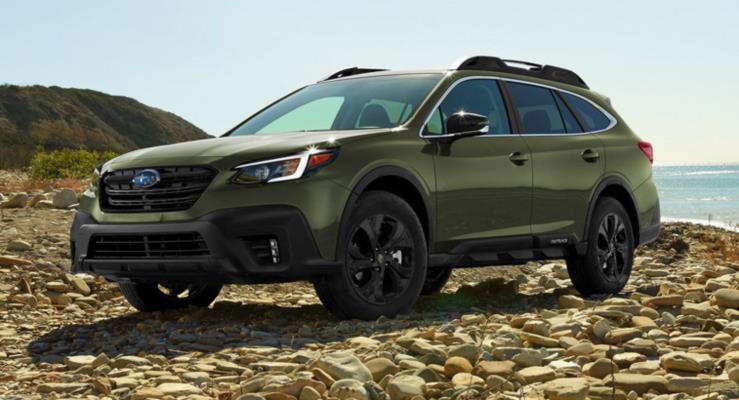 2020 Subaru Outback Turbo Motor ve Dev Dokunmatik Ekranla Geliyor
