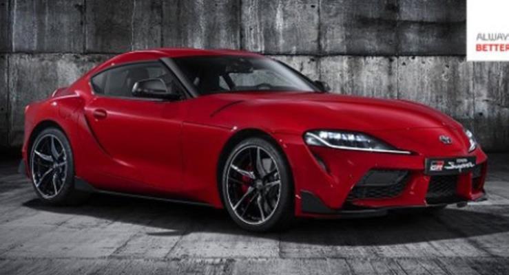 2020 Toyota Supra'nın resmi fotoğrafları yayınlandı
