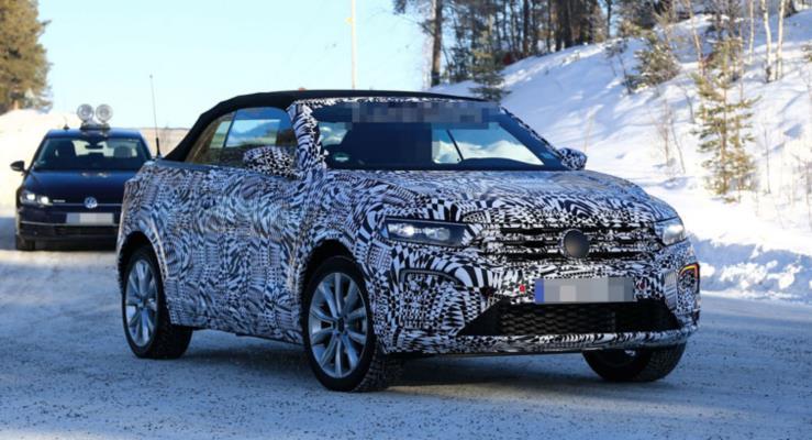 2020 VW T-Roc Cabrio Neredeyse Hazır
