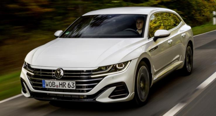 2021 VW Arteon Plug-In Hybrid Çıktı