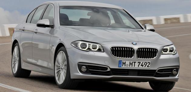 YENİ MAKYAJLI BMW 5 SERİSİ SEDAN 2014