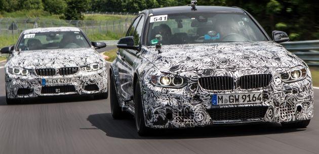 BMW, YENİ M3 SEDAN VE M4 COUPE