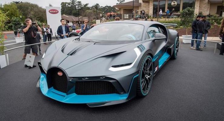 6 milyon dolar fiyatlı yeni Bugatti Divo kapışıldı