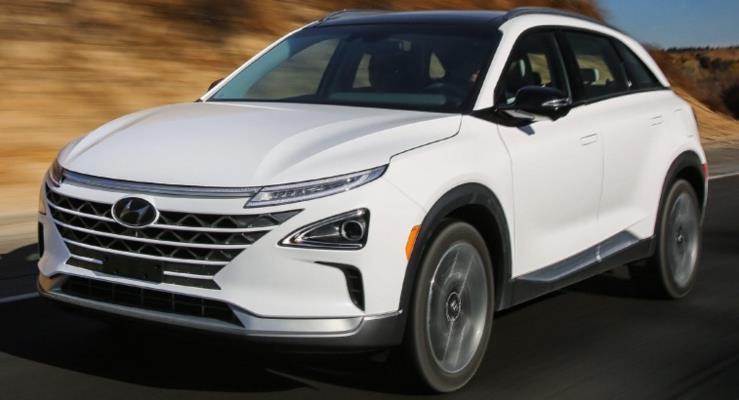 600 km menzilli Hyundai Nexo FCV Las Vegas'ta tanıtıldı