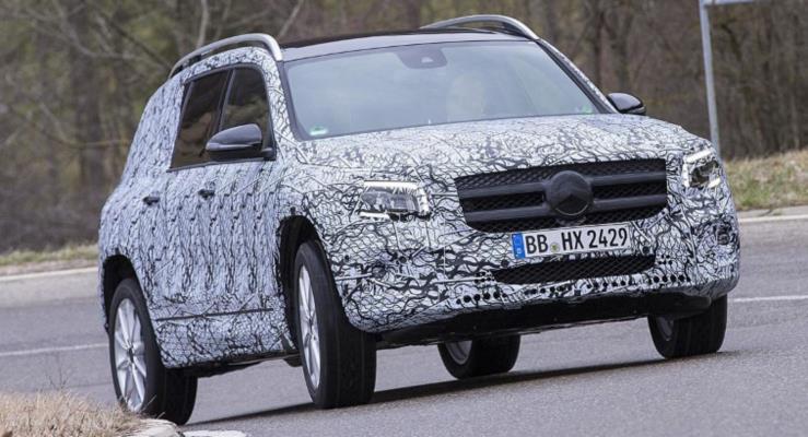 7 Kişilik 2020 Mercedes-Benz GLB Frankfurt'a Gelecek