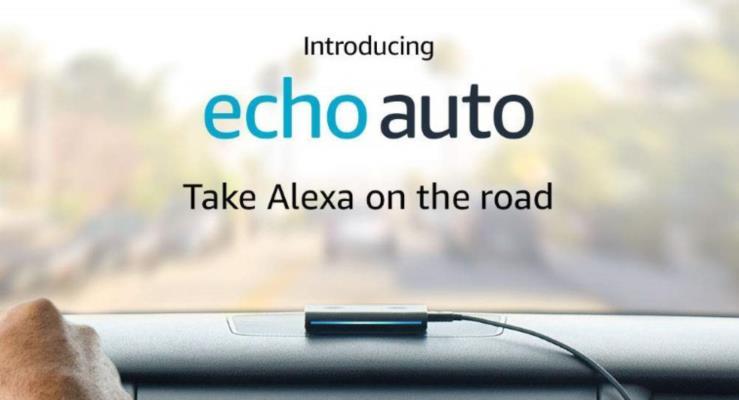 Amazon Echo Auto otomobilinizi geleceğe taşıyacak
