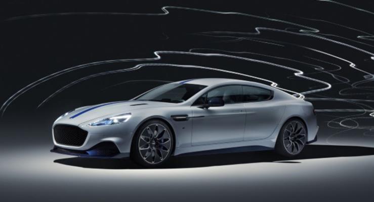 Aston Martin Rapide E Hızlı Şarjla 320 KM Gidecek