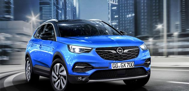 Atletik ve maceracı yeni Opel Grandland X