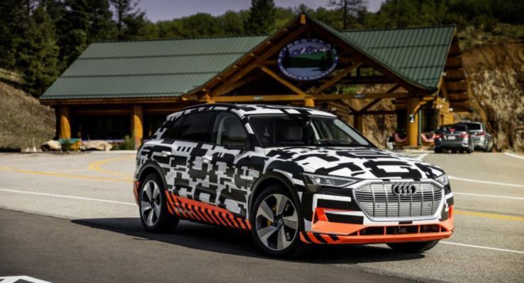 Audi E-Tron'la artık frene basmak tarih oluyor!