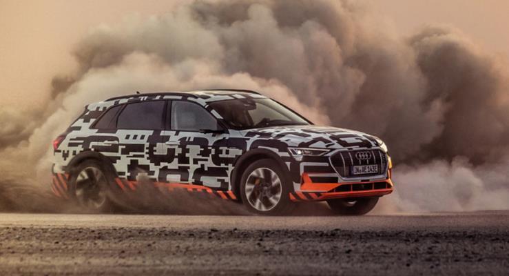 Audi e-tron savanadaki testlerden başarıyla geçti
