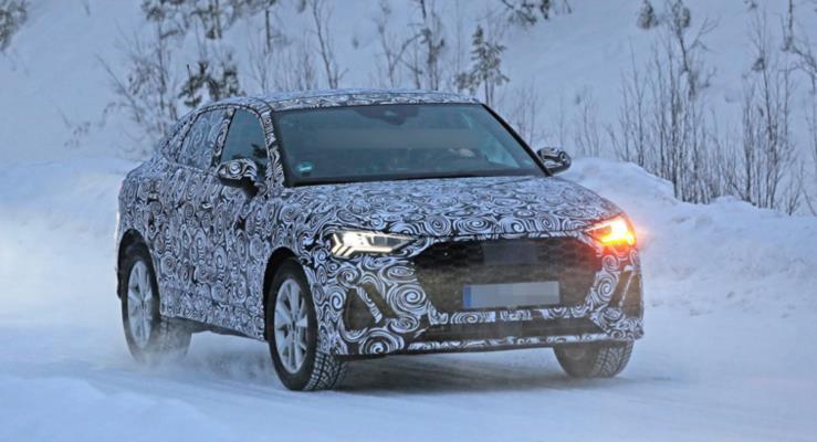 Audi Q4 prototipi kış testinde görüntülendi
