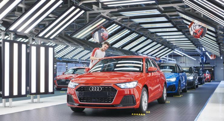 Audi yeni A1'in üretimine Seat'ın Martorell fabrikasında başladı