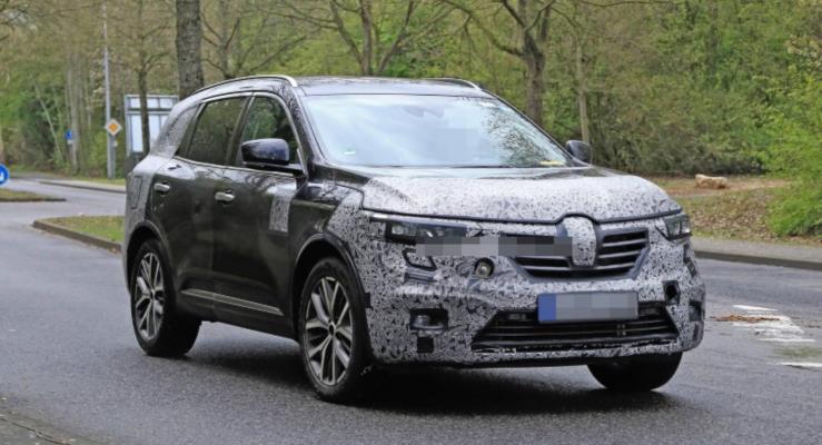 Avrupa Versiyonu 2020 Renault Koleos Görüntülendi, Çin Versiyonu Şangay'da Tanıtıldı