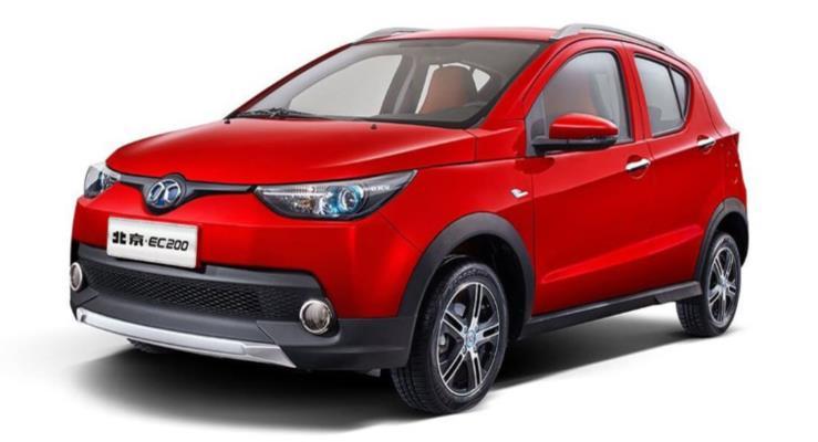 BAIC EC dünyanın en çok satan elektrikli otomobili oldu