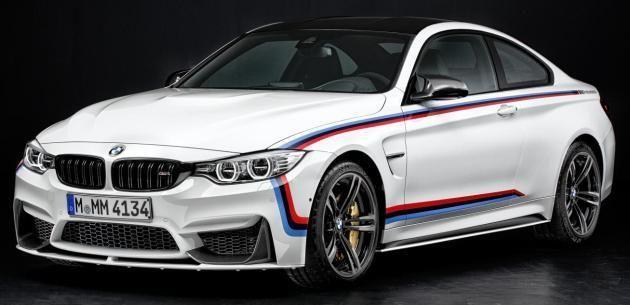 BMW, 3 VE 4 SERİLERİNE M PERFORMANS AKSESUARLARI