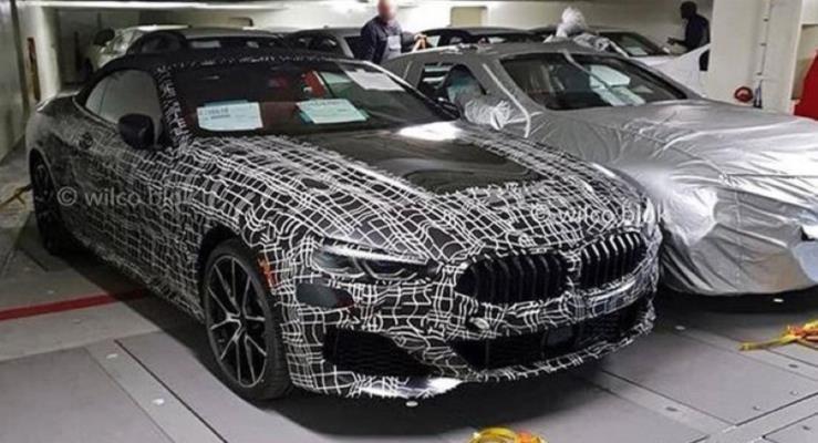 BMW 8-Serisi Cabrio iç kabini görüntülendi