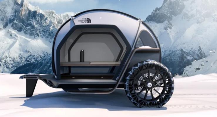 BMW'den tekerlekli çadır