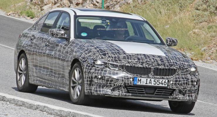 BMW elektrikli 3 Serisi'ni test ediyor