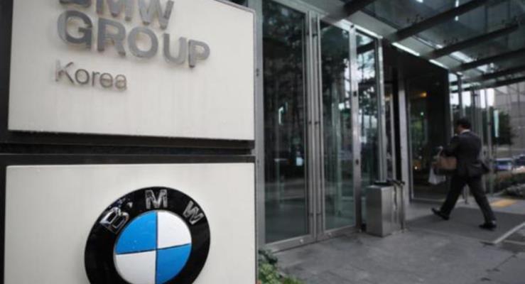 BMW'nin Güney Kore'deki merkezine polis baskını