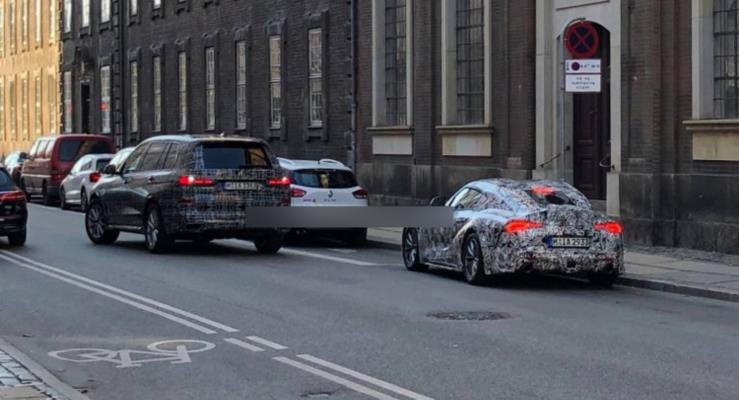 BMW X7 ve Toyota Supra birlikte görüntülendi