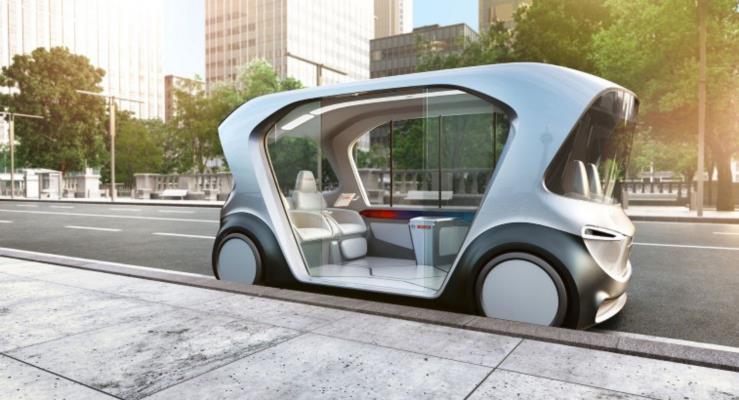 Bosch'un otonom elektrikli minibüsü geleceğin taşıtı olmayı hedefliyor