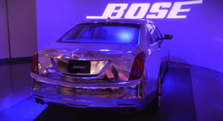 Bose otomobillerde gürültüyü kesmeye talip