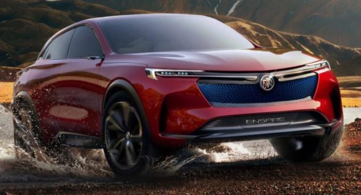 Buick Enspire konsepti çizimlerle Opel'in yeni SUV'si oldu