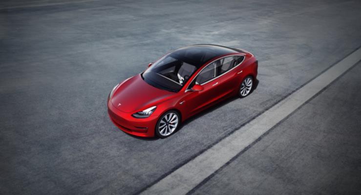 Çin Tesla Model 3