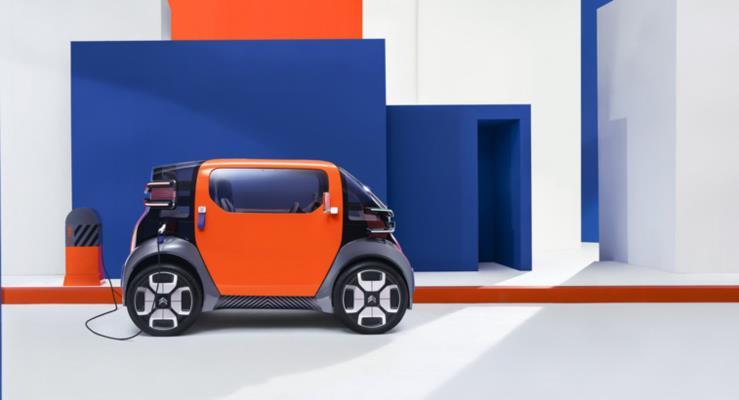 Citroen Cenevre'ye elektrikli Ami One Concept ile geliyor