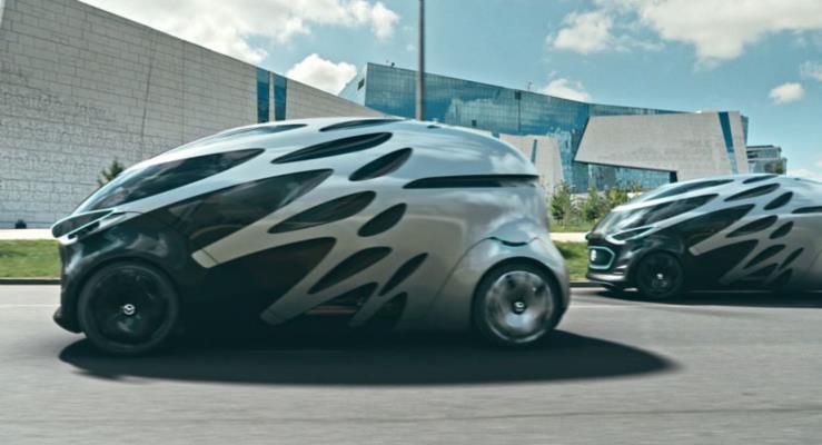 Daimler şehir içi ulaşım için otonom minibüs tasarlıyor