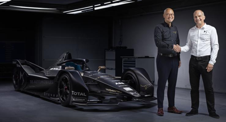 DS Automobiles ve Techeetah Formula E