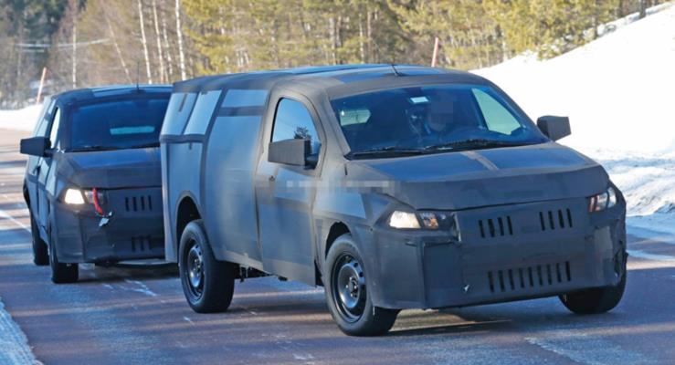 Fiat Mobi Pickup henüz kendini ele vermiyor
