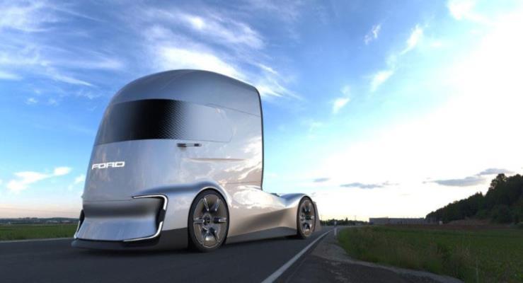 Ford F-Vision Future Truck konsepti Hannover'de tanıtıldı
