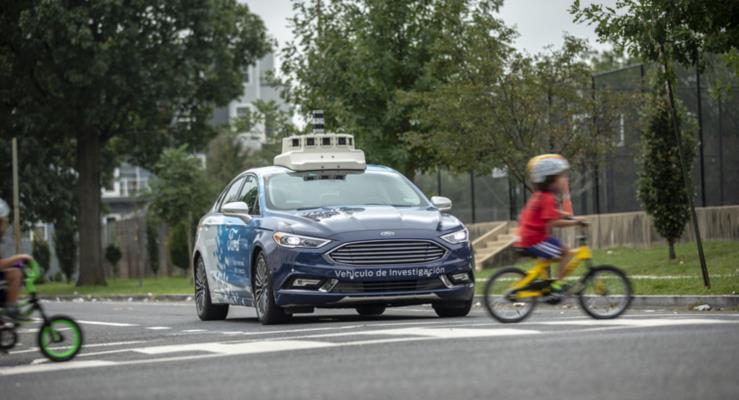 Ford Washington D.C.'de otonom araçlarını test ediyor
