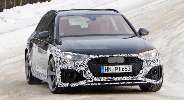 Güncellenen Audi RS4 Avant Bir Klasiğin Başarısını Sürdürmeye Aday